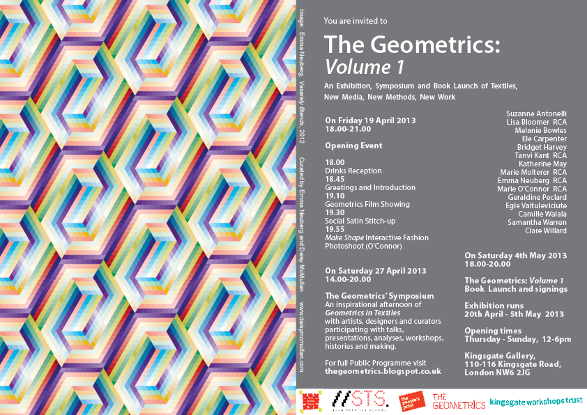 Flier_THE GEOMETRICS Volume 1