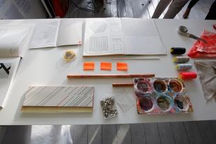 Victoria Umansky's studio space