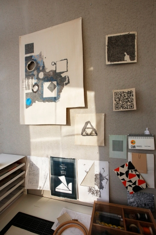 Richard McVetis' studio space